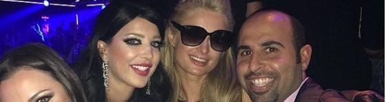 Jon Bakhshi, Paris Hilton and friends